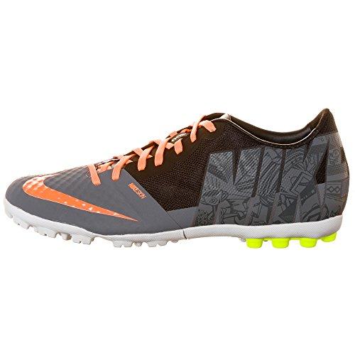nike bomba finale PREM 643278 II da uomo da calcio, scarpe da calcio (cool grey atomic orange volt 087)
