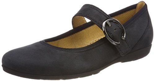 Gabor Shoes Damen Casual Geschlossene Ballerinas Blau (Ocean) 39 EU