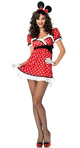 Rollenspiel Mickey Minnie Prinzessin Kleid Kostüm Halloween-Party Kostüme DS Nacht ()