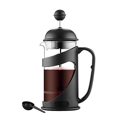 Edelstahl Hochtemperaturbeständigkeit Glasfilter Französisch Presse Pot Kaffeemaschine Brewer Cup...