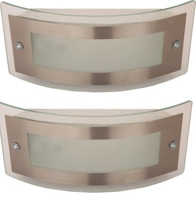 WhiteRay Metallic Bathroom Mirror Wall Light(Set Of 2 Pcs)