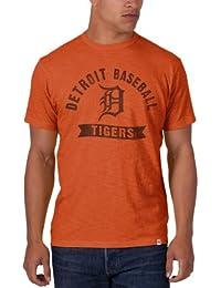 '47 Brand - Camisa casual - para hombre Naranja Carrot Talla:large