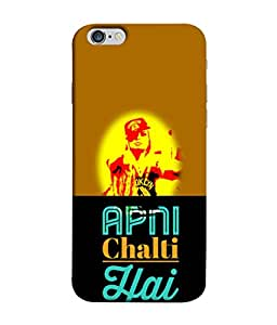 Apple iPhone 6 Plus, Apple iPhone 6+ Back Cover Apni Chalti Hai Design From FUSON