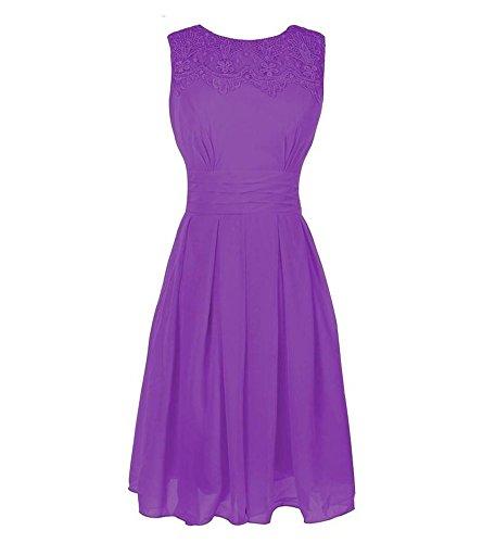Drasawee Damen A-Linie Kleid 13#