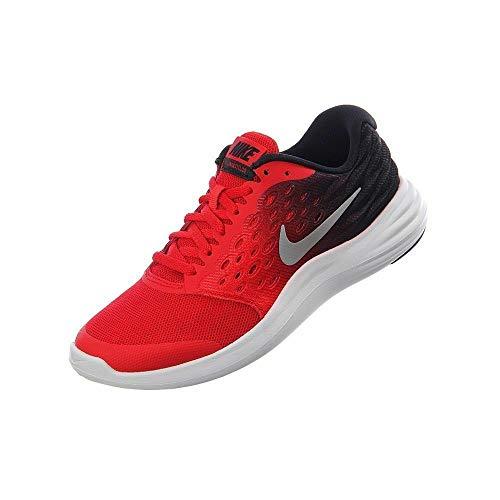 Nike Lunarstelos (GS), Zapatillas de Running para Hombre, Rojo (Rojo (University Red/Metallic Silver-Black)), 38 EU