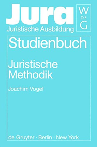 Juristische Methodik (Jura Studienbuch)