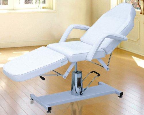 hydraulisch höhenverstellbare Kosmetikliege Behandlungsliege mit verstellbarem Rücken-, Beinteil