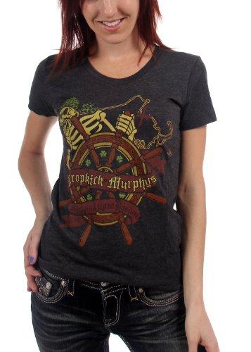 Dropkick Murphys -  T-shirt - Donna nero Small