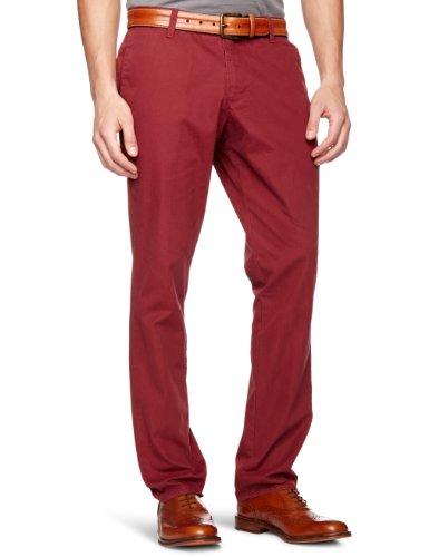 original-penguin-pantalon-droit-homme-rouge-bordeaux-marron-bordbeaux-xl