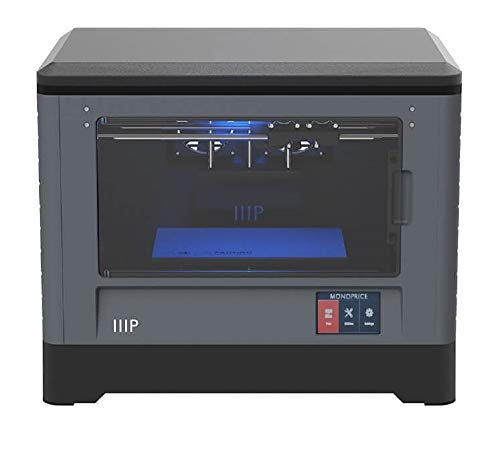 Monoprice Dual Extruder 3D-Drucker - Schwarz mit beheizter Bauplatte (230 x 150 x 160 mm) Vollständig geschlossen, eingebaute Kamera, automatische Wiederaufnahme, Touchscreen, einfaches WLAN - 2