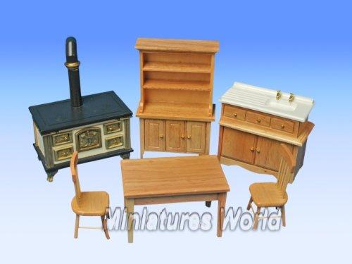 meuble-pour-maisons-de-poupees-miniature-cuisine-6-pieces