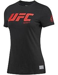 Reebok UFC FG Logo Tee T-Shirt, femmes