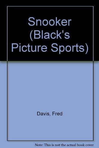 Snooker (Black's Picture Sports) por Fred Davis