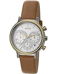 Joop! Damen-Armbanduhr Golden Leather Chronograph Quarz Leder JP101502011