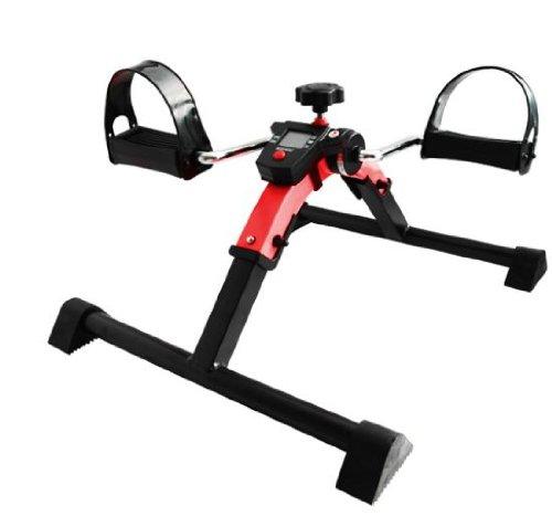 ROTER Bewegungstrainer digital Pedaltrainer Beintrainer Armtrainer Arm Bein Trainer
