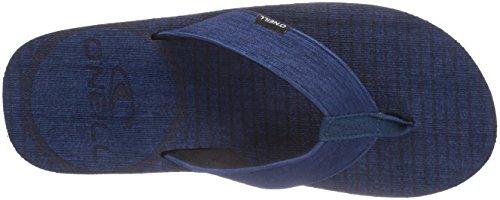 O'Neill FTM KOOSH Herren Zehentrenner Blau (5085 Carbon Blu)