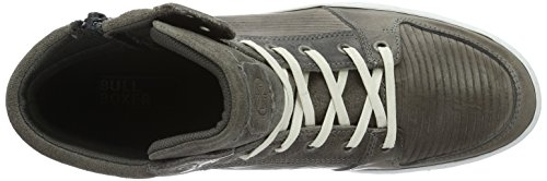 BULLBOXER Herren 596k56253a High-Top Grau (L2GY)