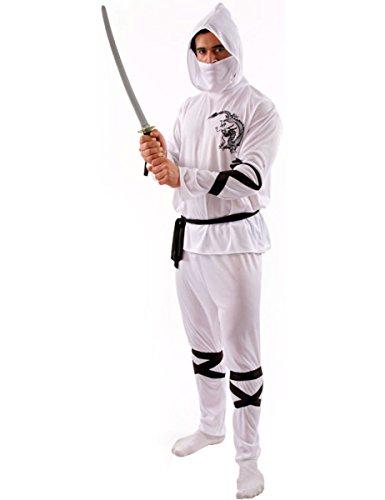 White Ninja Costume - Extra (White Ninja Kostüme)