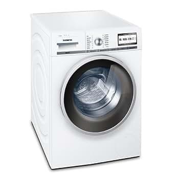 siemens iq800 wm16y841 waschmaschine frontlader a 1600 upm 8 kg wei i dos varioperfect. Black Bedroom Furniture Sets. Home Design Ideas