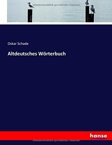 Altdeutsches Wörterbuch