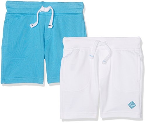 mothercare-baby-boys-mb-promo-2pk-turq-and-white-shorts-multicoloured-brights-multi-3-4-years-manufa