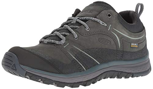 KEEN Terradora Leather WP Shoes Damen Tarragon/Turbulence Schuhgröße US 9   EU 39,5 2019 Schuhe