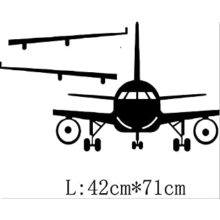 LETAMG Wall Sticker 3D Airplane Wall Stickers Wall Decor Airplane Wall Art Decal Decoration Vinyl Stickers Removable Airplane Wallpaper