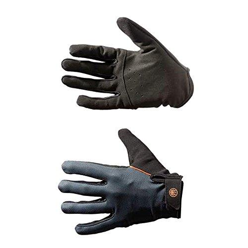 Beretta GL311 Netzgewebe Schießhandschuhe - schwarz und grau, XL