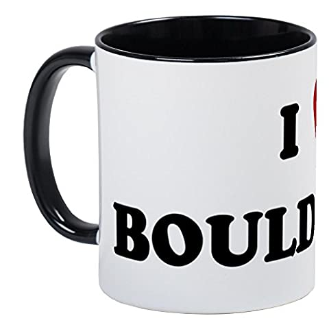 CafePress - I Love Boulder Mug - Unique Coffee Mug, Coffee Cup, Tea Cup