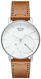 Withings Activité Sapphire - Smartwatch mit Aktivitäts- und Schlaftracker - Schweizer Fabrikat -Silber/Braun (B00NLAGYAQ) | Amazon price tracker / tracking, Amazon price history charts, Amazon price watches, Amazon price drop alerts
