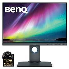 BenQ SW240 PhotoVue Photographer Monitor, 1920 x 1200, IPS, Adobe RGB, 24.1 Inch