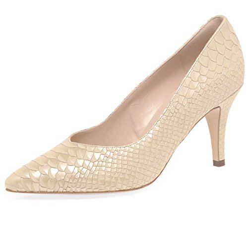 Peter Kaiser Elektra Womens Dress Scarpe Décolleté Sabbia Snake