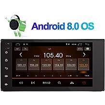 7 Pulgadas 4Core Android 8.1 Unidad Principal del Coche Navegación GPS Para Toyota Universal RAV4 FJ