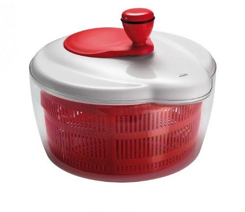 Küchenprofi Salatschleuder mit Kurbel TrendLine, rot