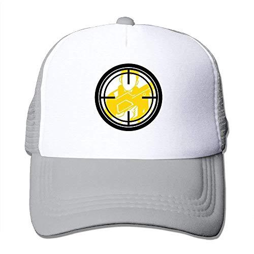 ARTOPB Funny Hat Baseball Cap Mesh Baseball Caps Collimation Mirror Art Unisex Adjustable Sports Trucker Cap
