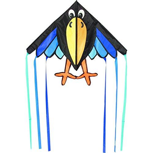 Invento 106175 - Delta Charly Kinderdrachen Einleiner, Ab 5 Jahren, 98 x 150 cm Ripstop-Polyester 2-5 Beaufort