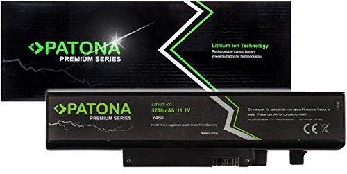 PATONA Premium - Ersatz für Lenovo Ideapad Akku (5200mAh) zu B560 V560 Y460 Y560 (ragt Nicht über das Gehäuse hinaus) - Y560-akku