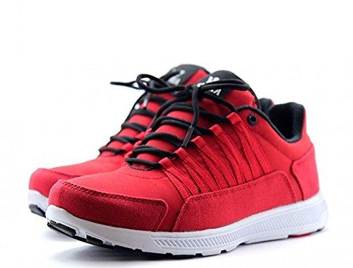 SUPRA Skateboard Shoes Owen Red / Black / White - Sneakers, shoe size:45;color (shoes):Red / Black / White