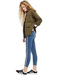 e831076e Topshop RRP £60 Brand New Ex Moto Chain Side Jamie Jeans Sizes ...