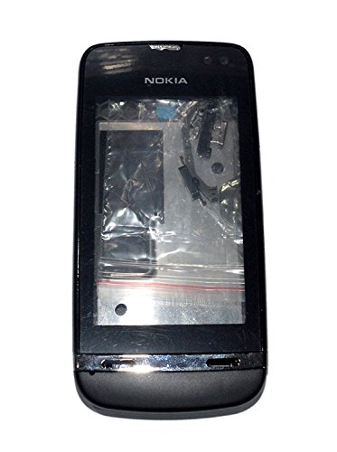 Nokia Asha 311 New Replacement Full Body Housing Back, Body Panel Black - ROKK'  available at amazon for Rs.689