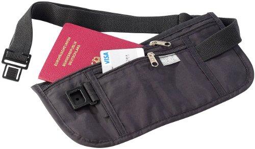 Semptec Urban Survival Technology Enganliegende Urlaubs- & Reise Bauchtasche mit RFID-Blocker