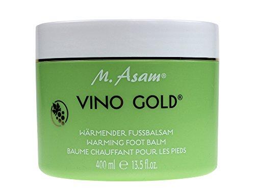 M. Asam® VINO GOLD® Wärmender Fußbalsam (400ml) Vegan gebraucht kaufen  Wird an jeden Ort in Deutschland