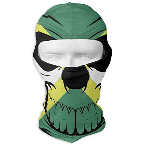 Imagen de liulishuan jamaican flag skull.png outdoor ski face mask motorcycle bike breathable full face mask men and women balaclava hood hat fashion20