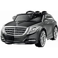 PEQUENENES Coche Eléctrico para Niño Mercedes-Benz S600, Producto BAJO Licencia, con Mando