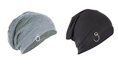 Michealngelo Ring Beanie Unisex Cap COMBO OF 2 For All The Seasons caps/beanie/slouch/skullcap/fitcap PACK OF 2