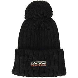 Napapijri Fitzegerald Bonnet, Noir (Black 041), Unique (Taille Fabricant: OS) Homme