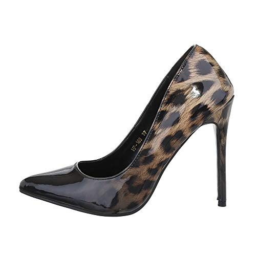 Ital-Design Damenschuhe Pumps High Heel Pumps