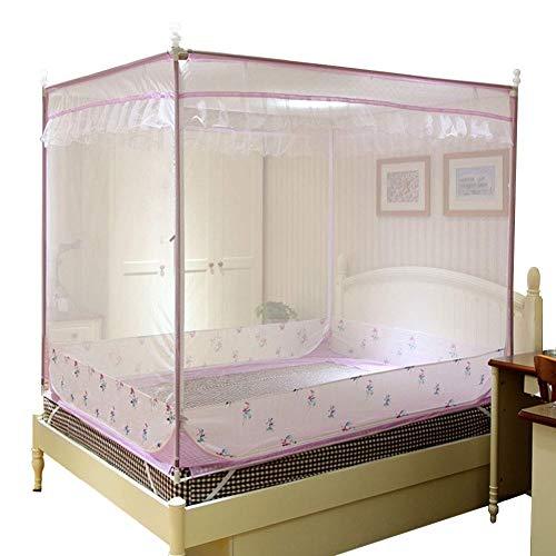 Sunny Übergroße Tragbare Moskitonetz - Home Schlafzimmer Outdoor Camping Moskito - Pflegeleicht Maschinenwäsche Und Reißen (größe : 1.2m (4 feet) Bed)