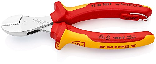 KNIPEX 73 06 160 T X-Cut® verchromt 160 mm