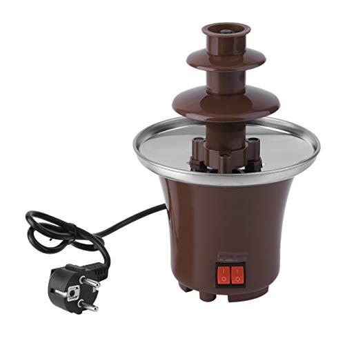 Peanutaso Mini Fondue Chocolate hogar Torre fusión